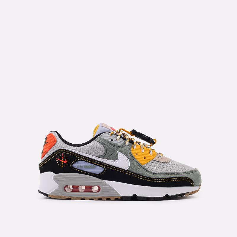 мужские разноцветные  кроссовки nike air max 90 DC2525-300 - цена, описание, фото 1