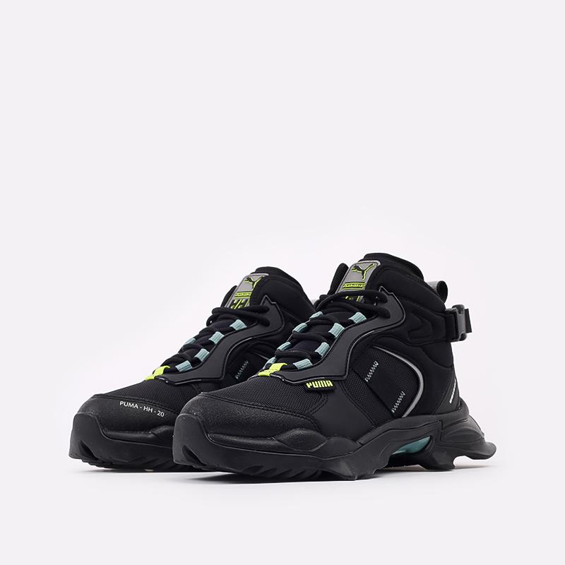 чёрные  кроссовки puma nitefox boot x helly hansen 37354901 - цена, описание, фото 2