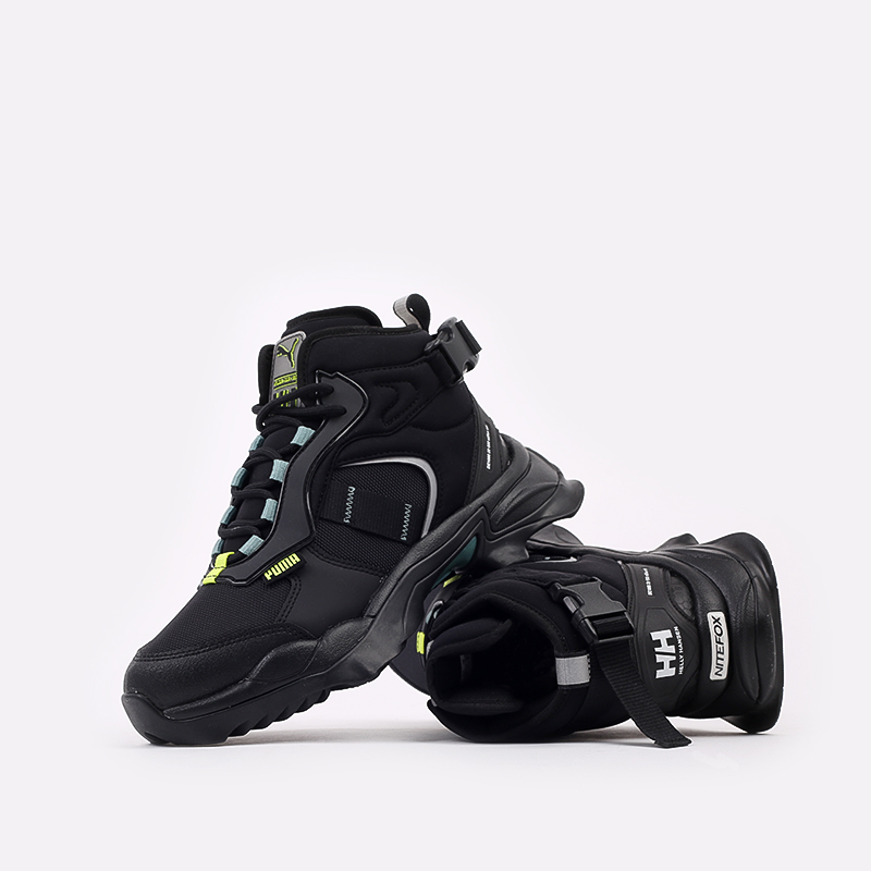 чёрные  кроссовки puma nitefox boot x helly hansen 37354901 - цена, описание, фото 5