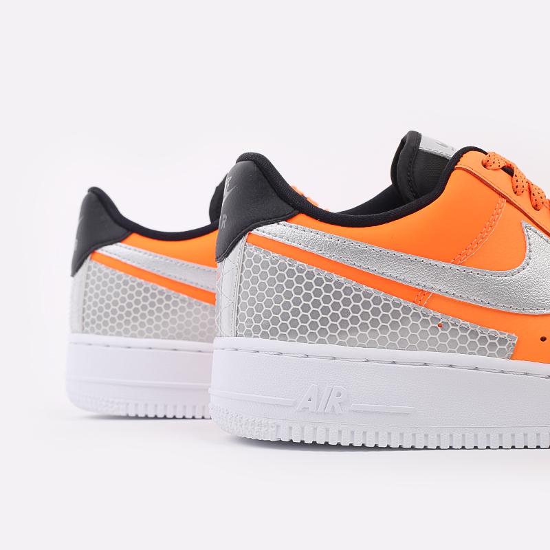 мужские оранжевые  кроссовки nike air force 1 '07 lv8 3m CT2299-800 - цена, описание, фото 6
