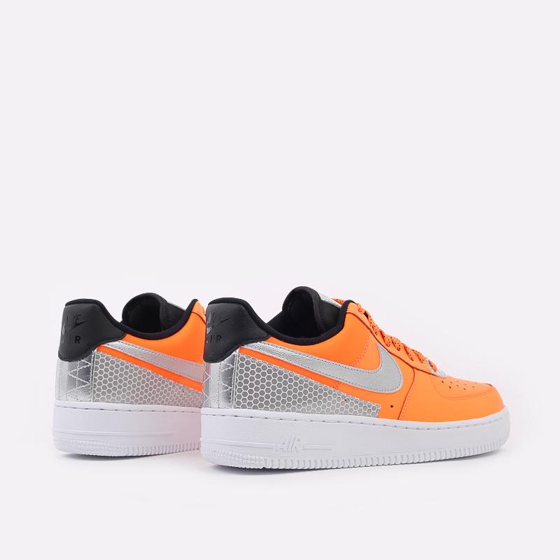 мужские оранжевые  кроссовки nike air force 1 '07 lv8 3m CT2299-800 - цена, описание, фото 3