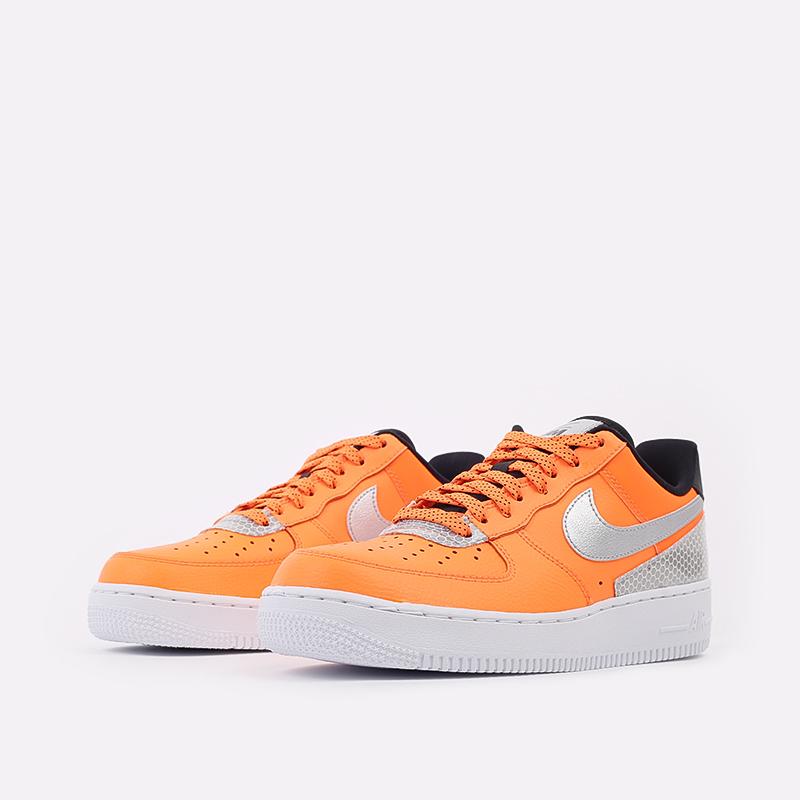 мужские оранжевые  кроссовки nike air force 1 '07 lv8 3m CT2299-800 - цена, описание, фото 2