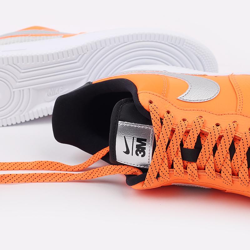 мужские оранжевые  кроссовки nike air force 1 '07 lv8 3m CT2299-800 - цена, описание, фото 7