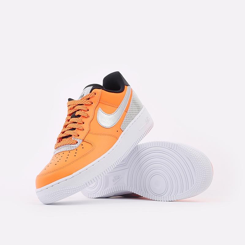 мужские оранжевые  кроссовки nike air force 1 '07 lv8 3m CT2299-800 - цена, описание, фото 5