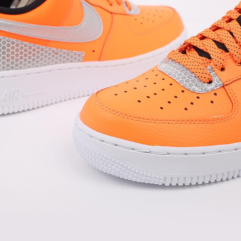 мужские оранжевые  кроссовки nike air force 1 '07 lv8 3m CT2299-800 - цена, описание, фото 8