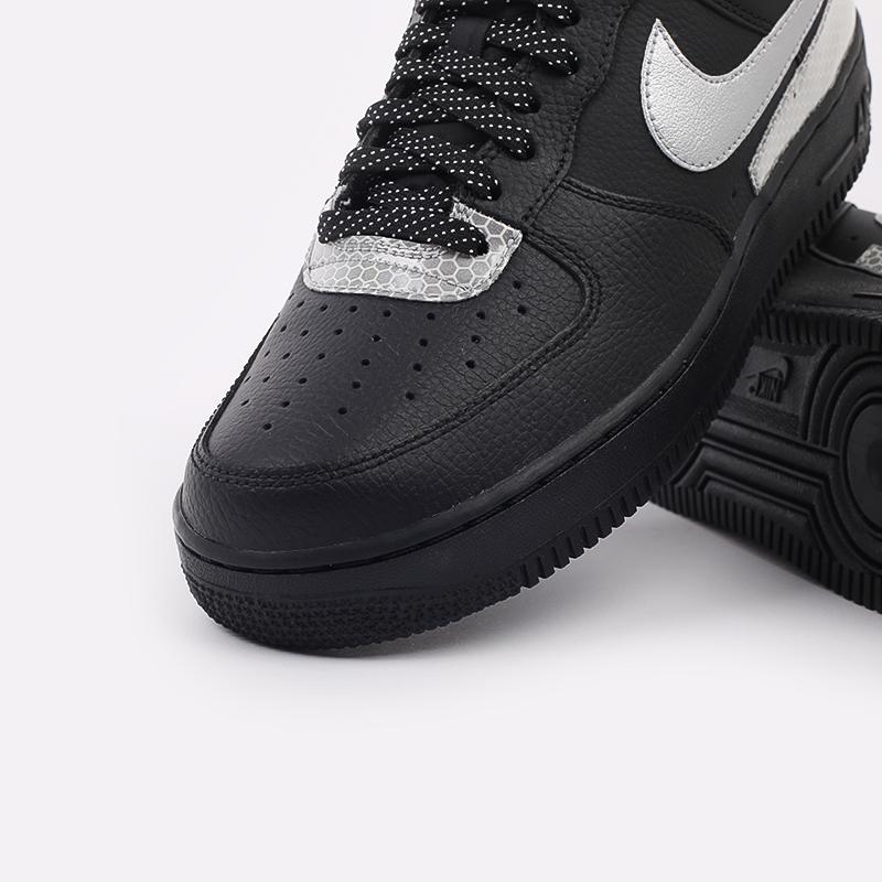 мужские чёрные  кроссовки nike air force 1 '07 lv8 3m CT2299-001 - цена, описание, фото 6