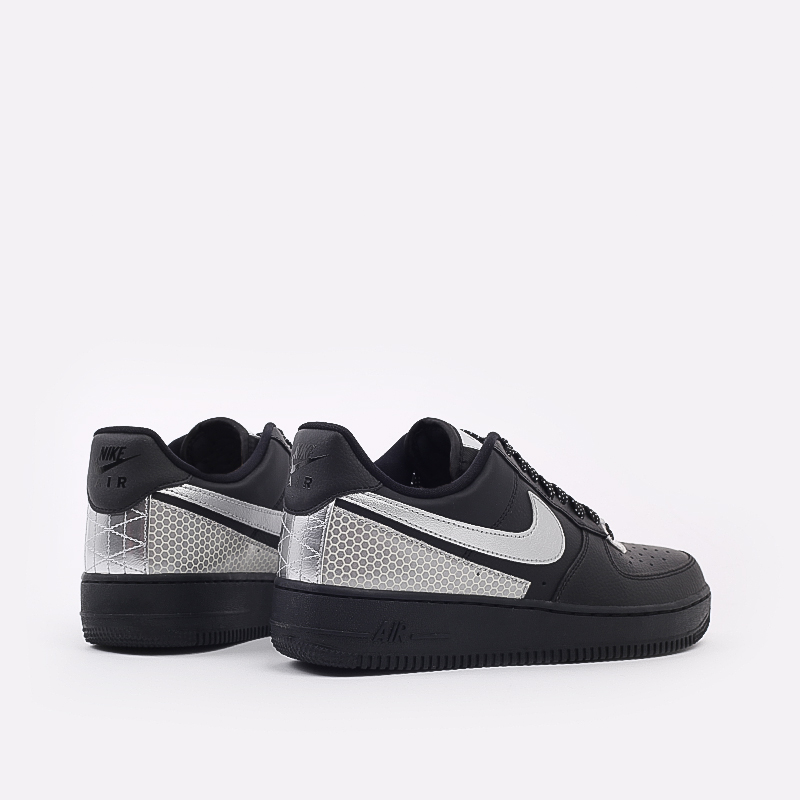 мужские чёрные  кроссовки nike air force 1 '07 lv8 3m CT2299-001 - цена, описание, фото 4