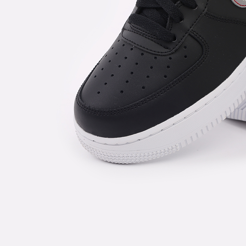 мужские чёрные  кроссовки nike air force 1 '07 3m CT2296-001 - цена, описание, фото 6