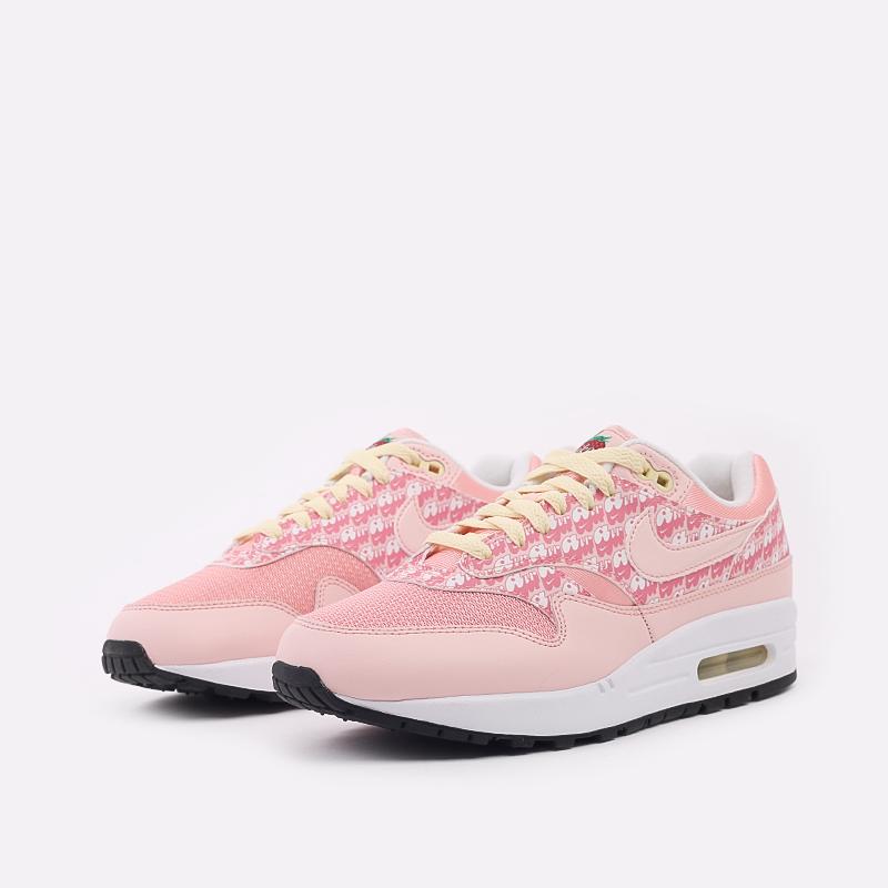 розовые  кроссовки nike air max 1 prm CJ0609-600 - цена, описание, фото 2