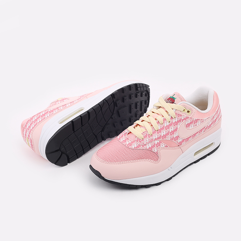 розовые  кроссовки nike air max 1 prm CJ0609-600 - цена, описание, фото 5