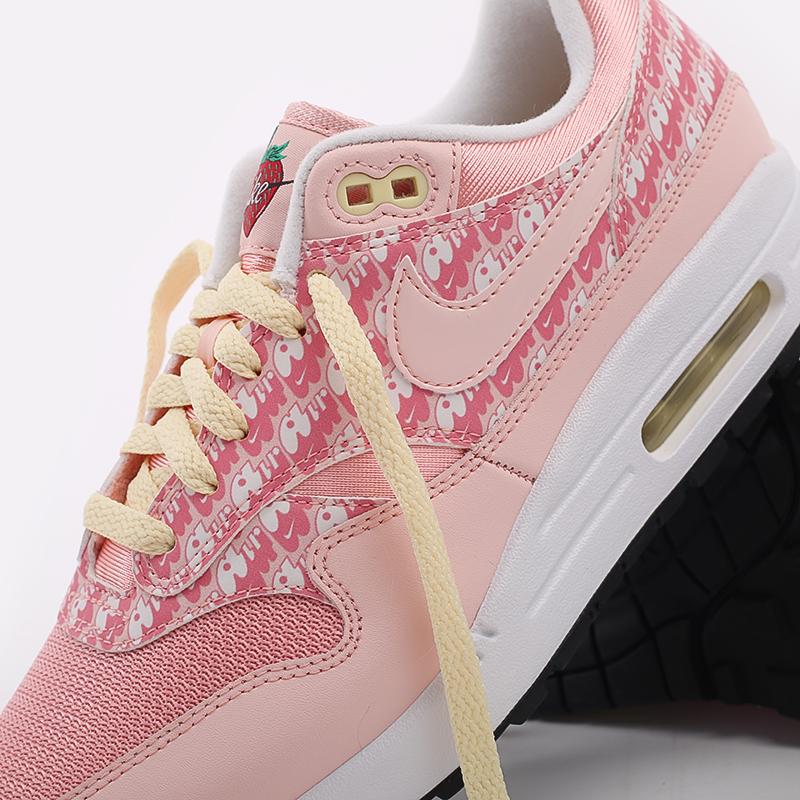 розовые  кроссовки nike air max 1 prm CJ0609-600 - цена, описание, фото 7