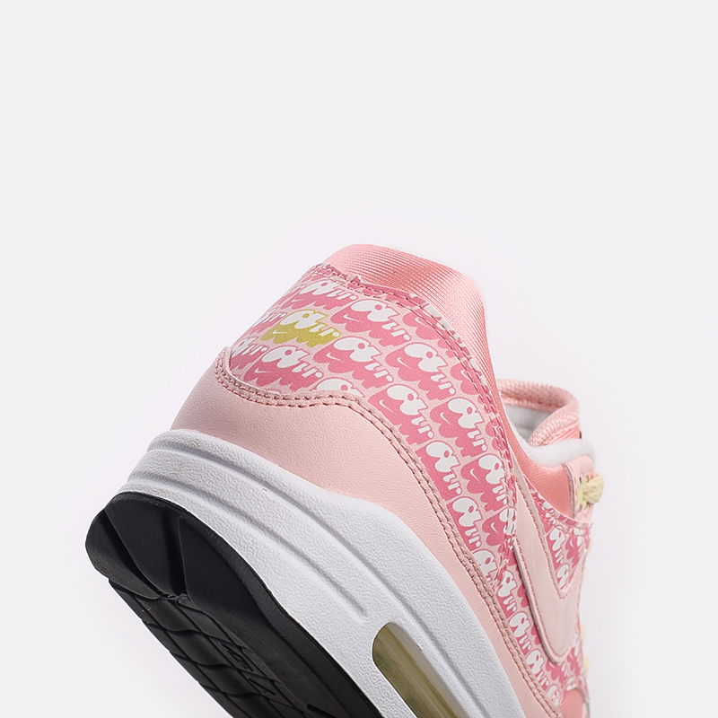 розовые  кроссовки nike air max 1 prm CJ0609-600 - цена, описание, фото 9