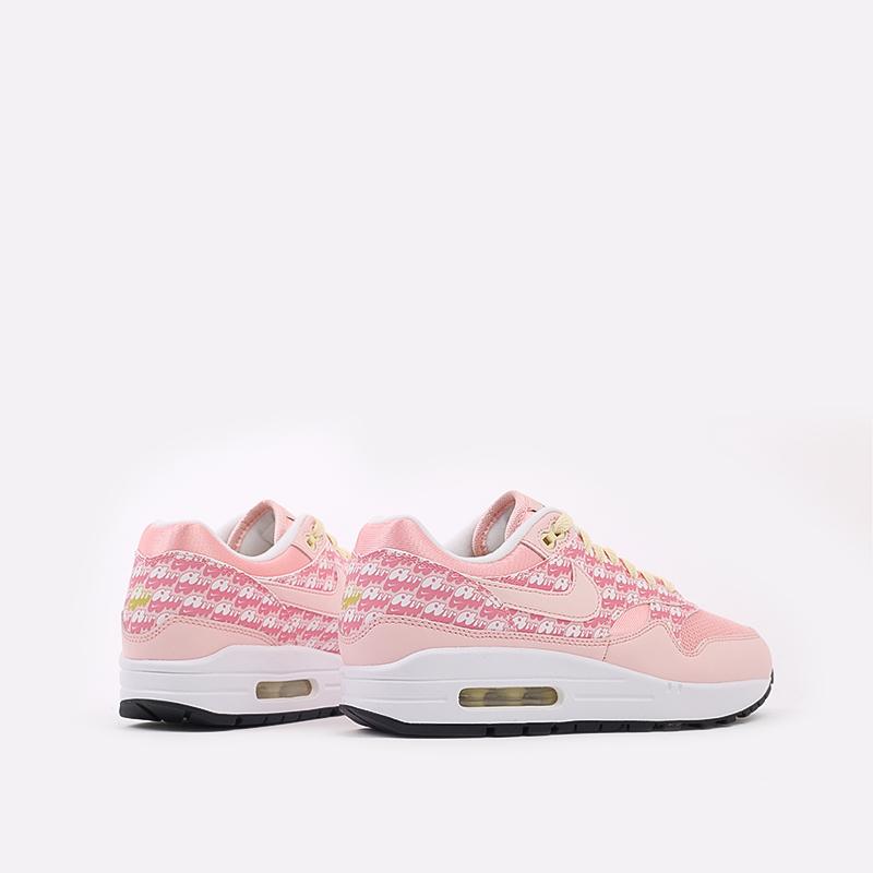 розовые  кроссовки nike air max 1 prm CJ0609-600 - цена, описание, фото 4
