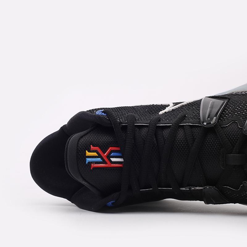 мужские чёрные  кроссовки nike kyrie 7 CQ9326-002 - цена, описание, фото 6