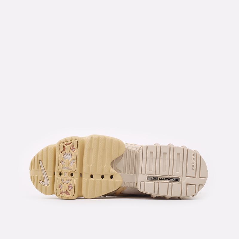 мужские бежевые  кроссовки nike air zoom spiridon cage 2 se CU1768-200 - цена, описание, фото 3