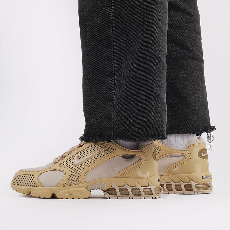 мужские бежевые  кроссовки nike air zoom spiridon cage 2 se CU1768-200 - цена, описание, фото 9