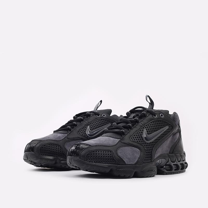 мужские чёрные  кроссовки nike air zoom spiridon cage 2 se CU1768-001 - цена, описание, фото 2