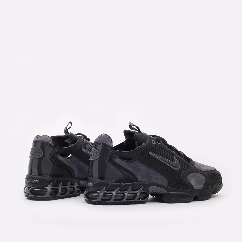 мужские чёрные  кроссовки nike air zoom spiridon cage 2 se CU1768-001 - цена, описание, фото 4