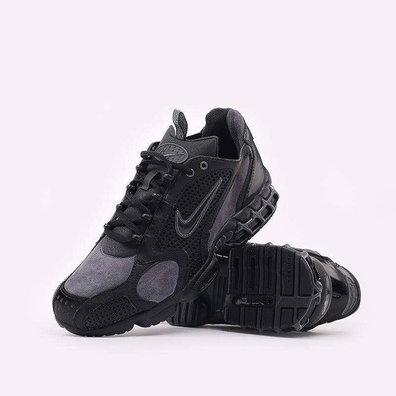 мужские чёрные  кроссовки nike air zoom spiridon cage 2 se CU1768-001 - цена, описание, фото 5