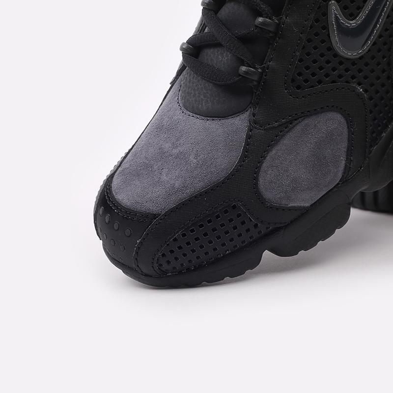 мужские чёрные  кроссовки nike air zoom spiridon cage 2 se CU1768-001 - цена, описание, фото 6