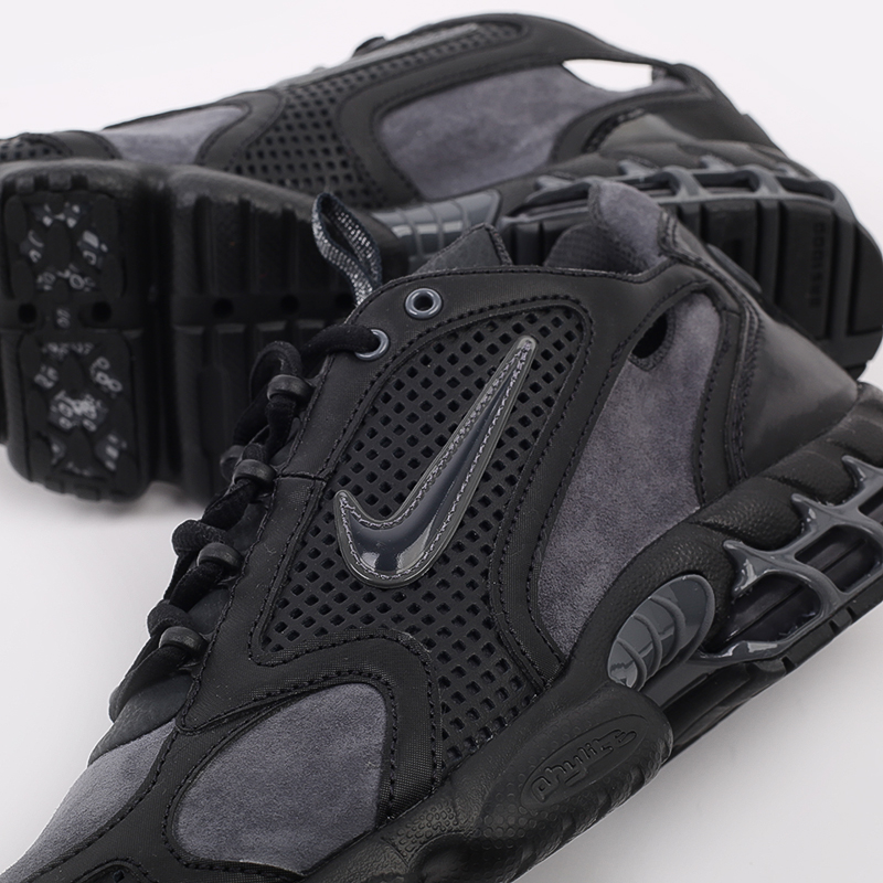 мужские чёрные  кроссовки nike air zoom spiridon cage 2 se CU1768-001 - цена, описание, фото 9