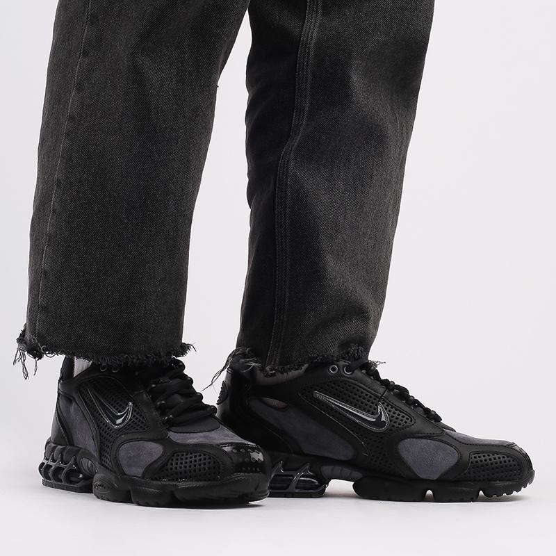 мужские чёрные  кроссовки nike air zoom spiridon cage 2 se CU1768-001 - цена, описание, фото 10