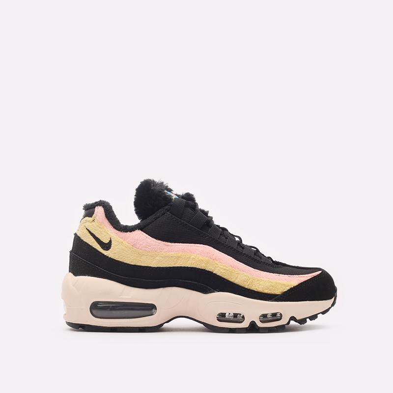 женские чёрные  кроссовки nike wmns air max 95 prm DB9577-001 - цена, описание, фото 3