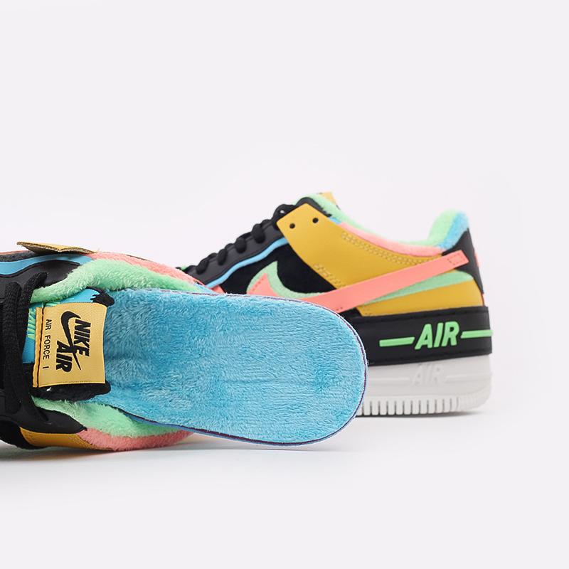 женские разноцветные  кроссовки nike wmns air force 1 shadow se CT1985-700 - цена, описание, фото 9