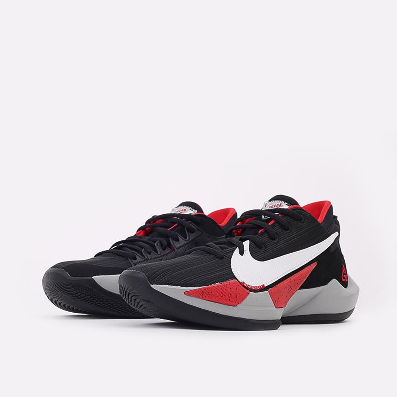 мужские чёрные  кроссовки nike zoom freak 2 CK5424-003 - цена, описание, фото 2