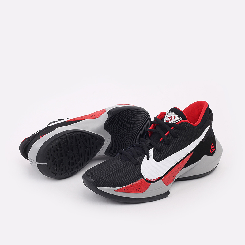 мужские чёрные  кроссовки nike zoom freak 2 CK5424-003 - цена, описание, фото 5