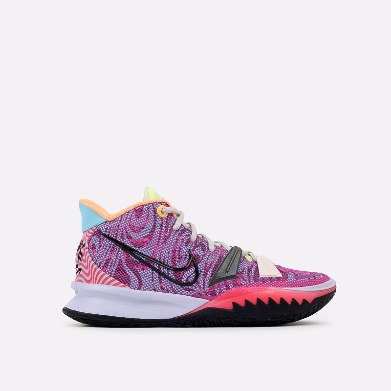 мужские разноцветные  кроссовки nike kyrie 7 DC0588-601 - цена, описание, фото 1
