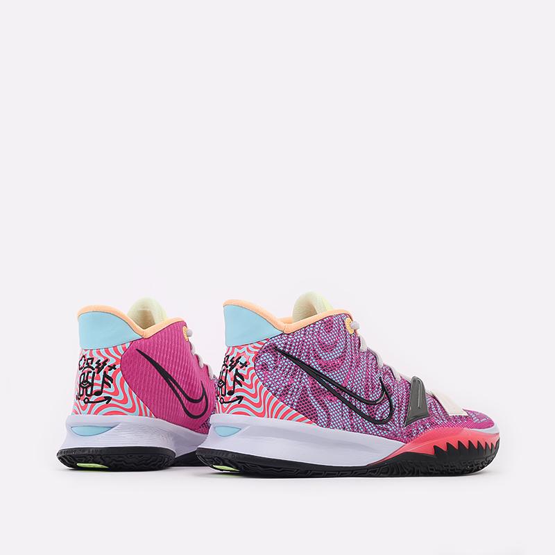 мужские разноцветные  кроссовки nike kyrie 7 DC0588-601 - цена, описание, фото 4