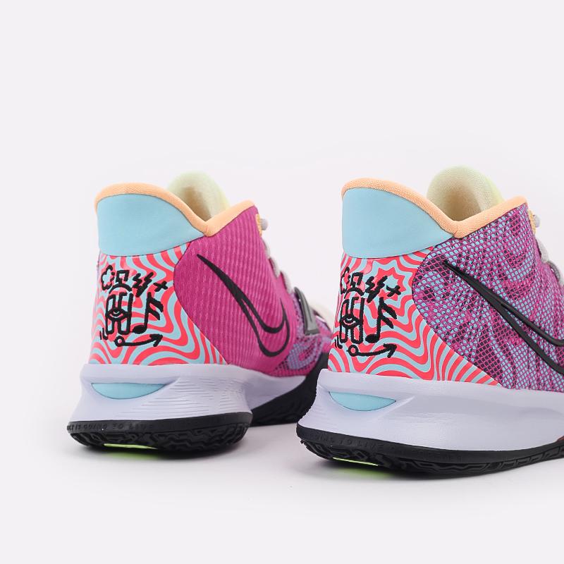 мужские разноцветные  кроссовки nike kyrie 7 DC0588-601 - цена, описание, фото 8