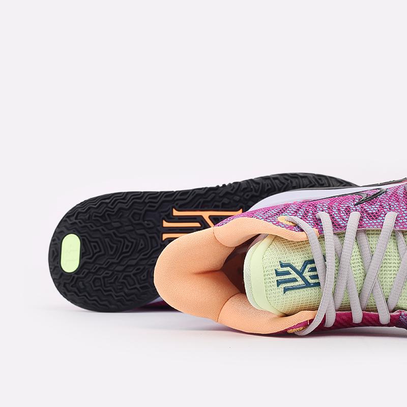 мужские разноцветные  кроссовки nike kyrie 7 DC0588-601 - цена, описание, фото 6