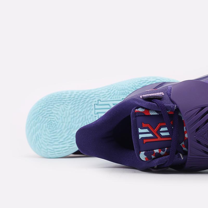 мужские фиолетовые  кроссовки nike kyrie low 3 CJ1286-500 - цена, описание, фото 6