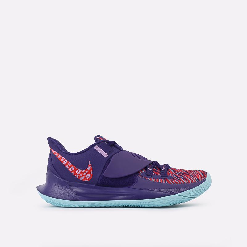 мужские фиолетовые  кроссовки nike kyrie low 3 CJ1286-500 - цена, описание, фото 1