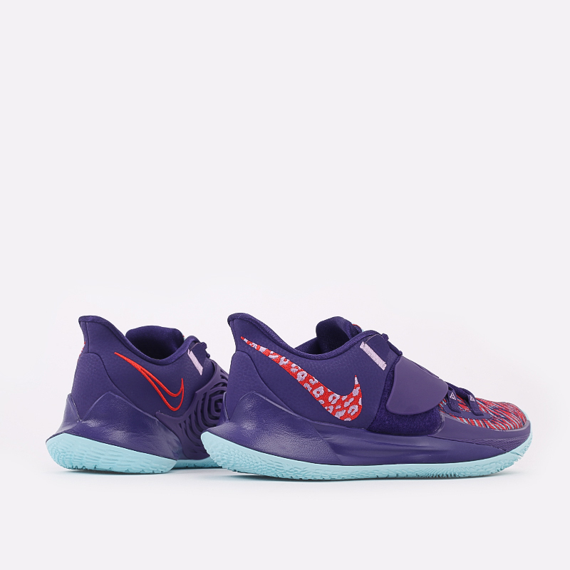 мужские фиолетовые  кроссовки nike kyrie low 3 CJ1286-500 - цена, описание, фото 3