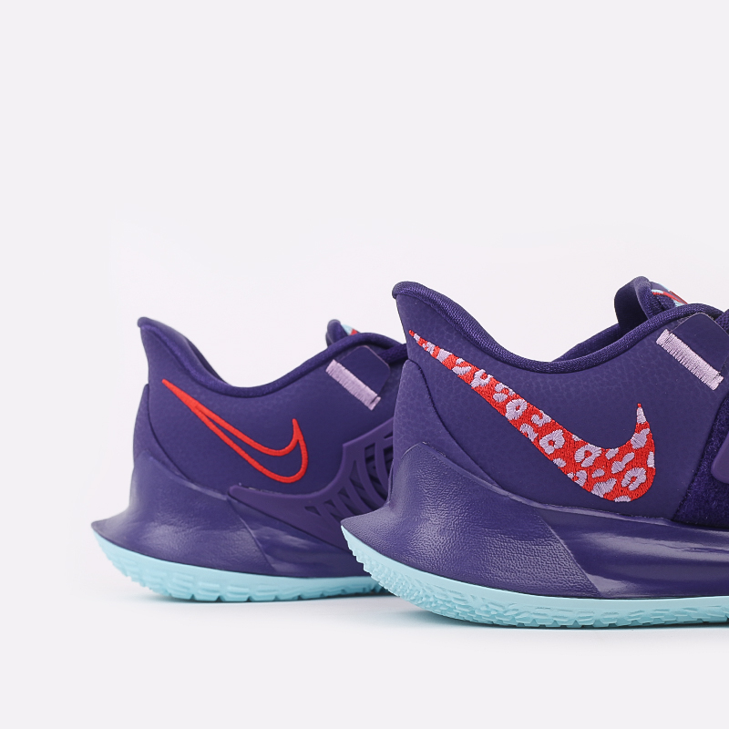 мужские фиолетовые  кроссовки nike kyrie low 3 CJ1286-500 - цена, описание, фото 4