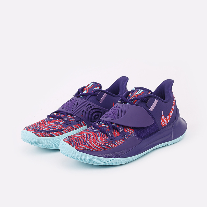 мужские фиолетовые  кроссовки nike kyrie low 3 CJ1286-500 - цена, описание, фото 2