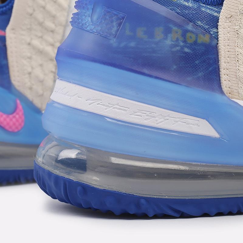 мужские бежевые  кроссовки nike lebron xviii DB8148-200 - цена, описание, фото 7