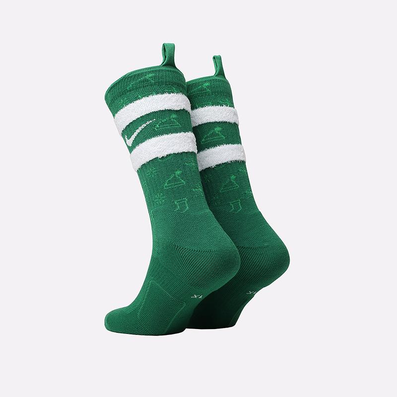 мужские зелёные  носки nike xmas CK6786-312 - цена, описание, фото 2