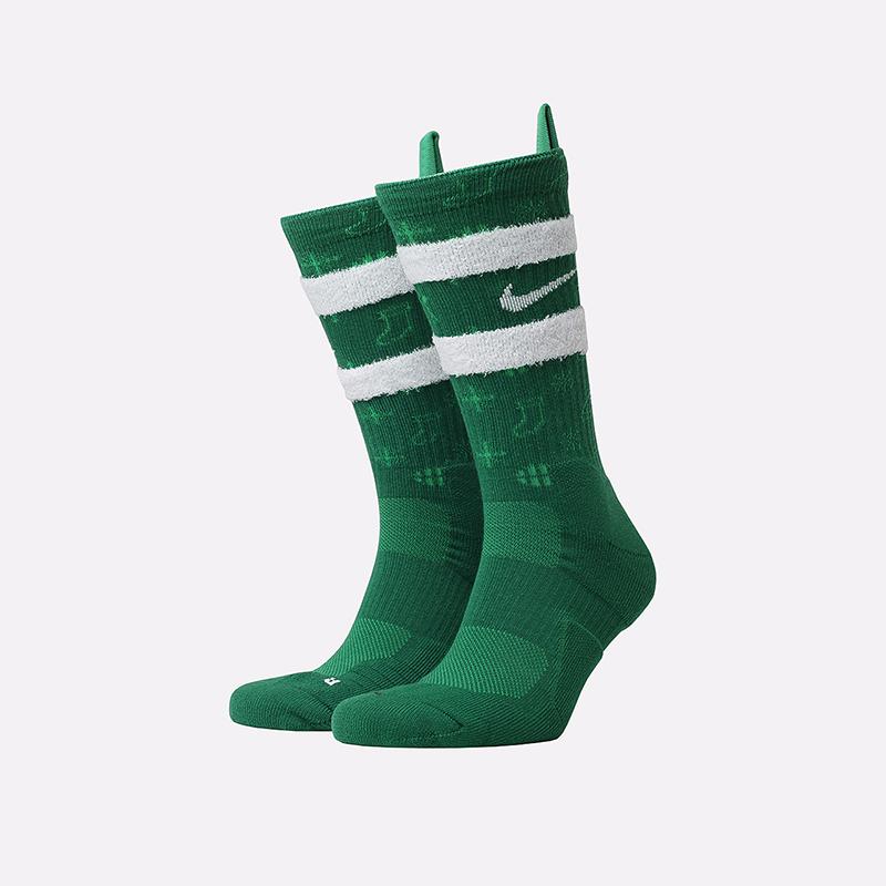 мужские зелёные  носки nike xmas CK6786-312 - цена, описание, фото 1
