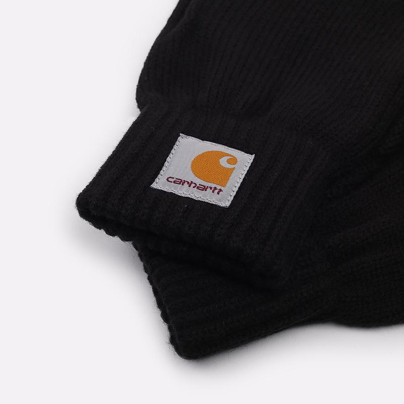 чёрные  перчатки carhartt wip watch I021756-black - цена, описание, фото 2