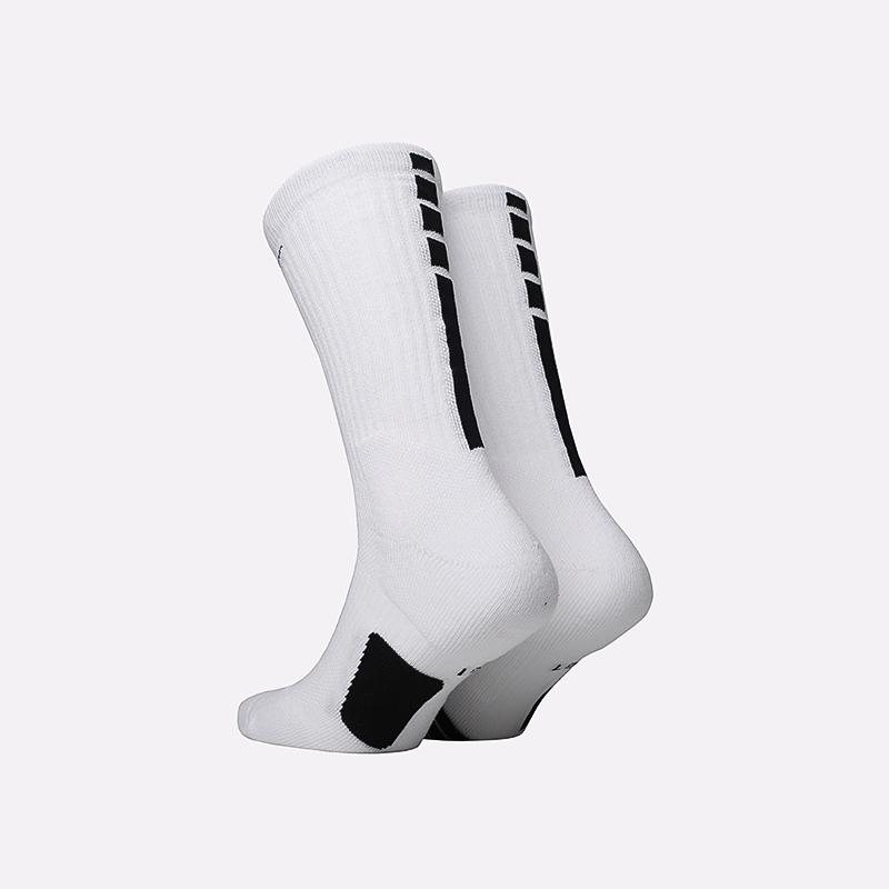 мужские белые  носки nike elite crew SX7622-100 - цена, описание, фото 2