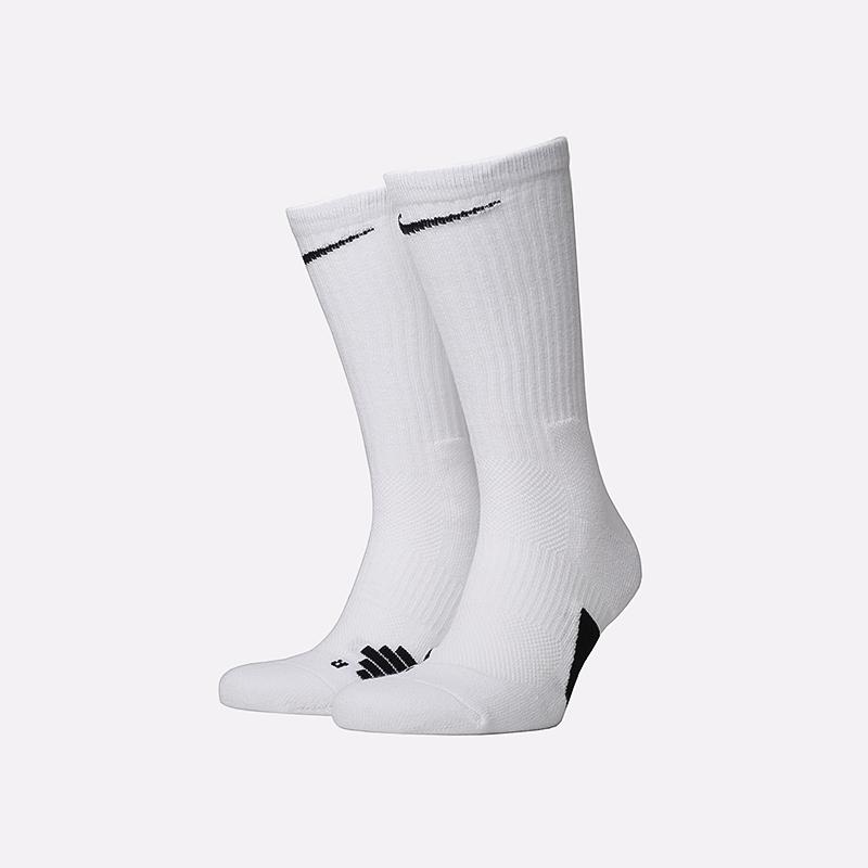 мужские белые  носки nike elite crew SX7622-100 - цена, описание, фото 1