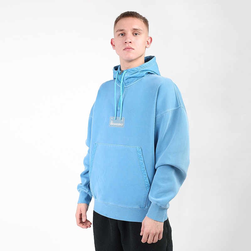мужскую голубую  толстовка jordan 23 engineered hoodie CK9036-446 - цена, описание, фото 1