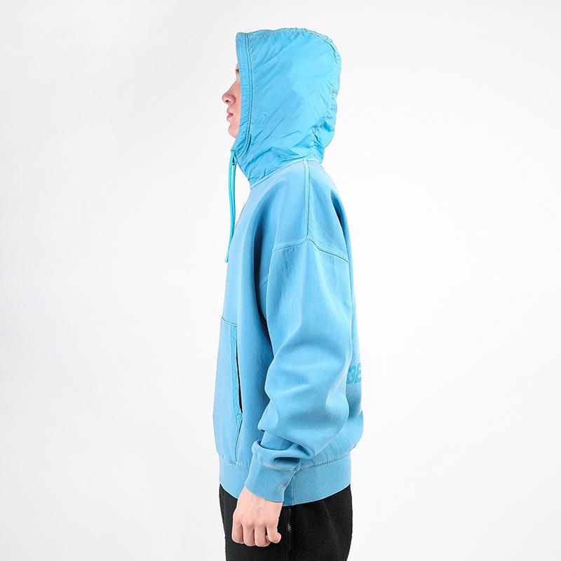 мужскую голубую  толстовка jordan 23 engineered hoodie CK9036-446 - цена, описание, фото 2