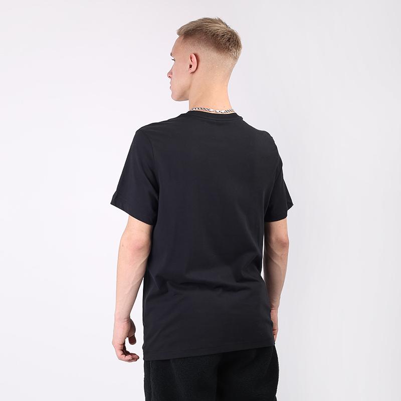 мужскую чёрную  футболка nike metallic just do it CV2099-010 - цена, описание, фото 4