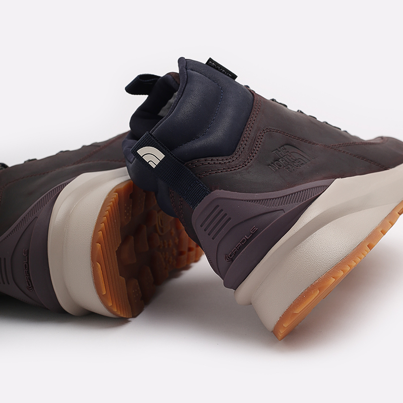 мужские бордовые  ботинки the north face back-to-berkeley mid wp TA4AZETG7 - цена, описание, фото 5