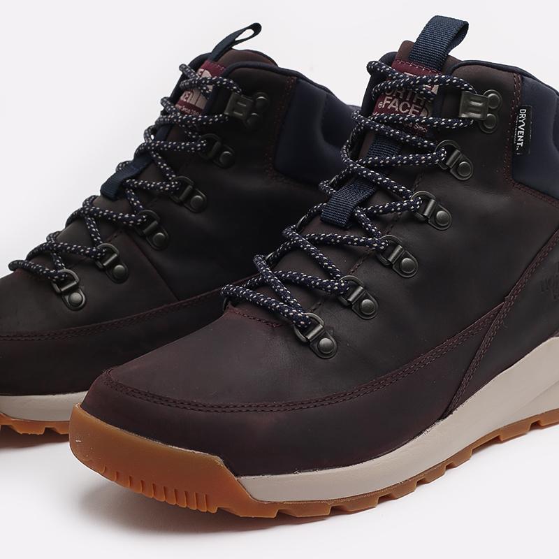 мужские бордовые  ботинки the north face back-to-berkeley mid wp TA4AZETG7 - цена, описание, фото 6